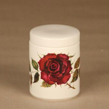 Arabia Ruusu purnukka , kannellinen, suunnittelija , kannellinen