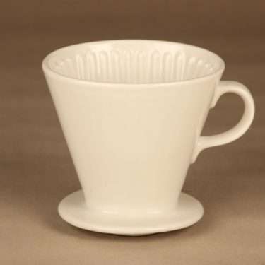 Arabia KS coffee filter, white