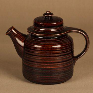 Arabia Mahonki kahvikaadin, ruskea, suunnittelija Ulla Procope,