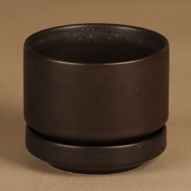 Arabia SN 1  flower pot, brown designer Richard Lindh