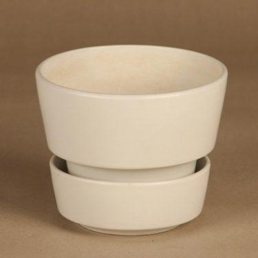 Arabia SL  flower pot, white designer Richard Lindh