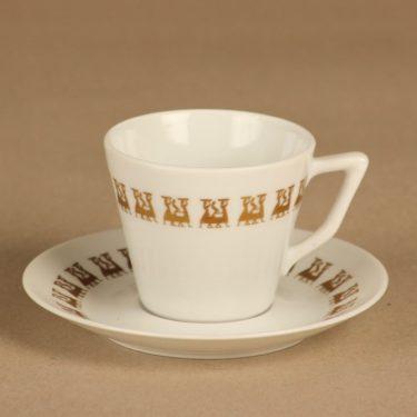 Arabia OTK kahvikuppi, tilaustyö, suunnittelija , tilaustyö