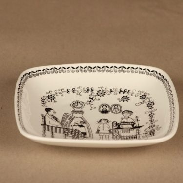 Arabia G Emilia style bowl, limited edition designer Raija Uosikkinen