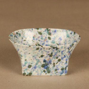 Rörstrand art ceramics bowl, numbered designer Oiva Toikka
