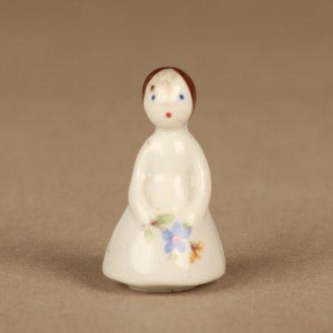 Arabia figuuri, tyttö, suunnittelija Friedl Holzer-Kjellberg, tyttö