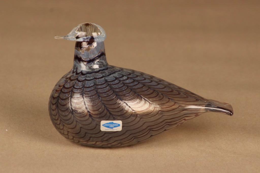 Nuutajärvi bird Partridge designer Oiva Toikka