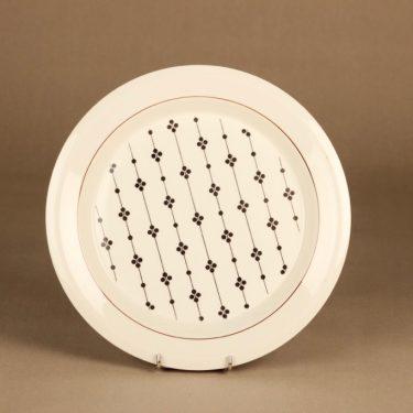 Arabia Kartano lautanen, 26 cm, suunnittelija Esteri Tomula, 26 cm, serikuva