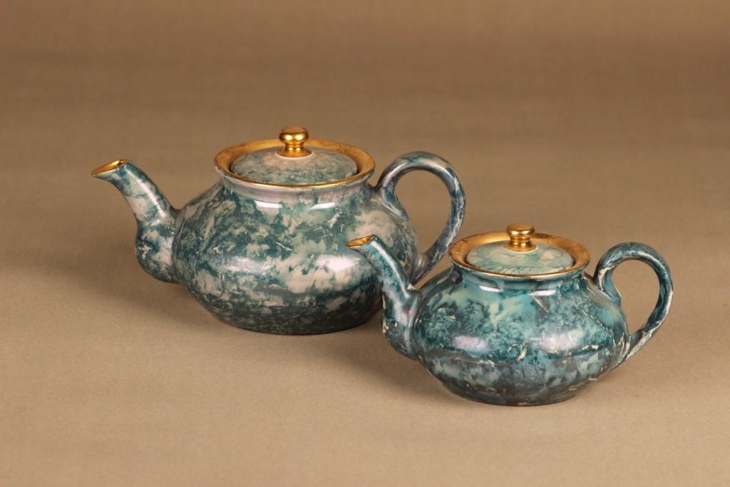 Arabia tea pot 2 pcs designer unknown