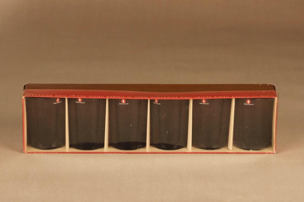 Iittala i-114 juomalasi, 15 cl, 6 kpl, suunnittelija Timo Sarpaneva, 15 cl, I-väri