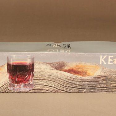 Iittala Kelo lasi, 25 cl, 4 kpl, suunnittelija Tapio Wirkkala, 25 cl