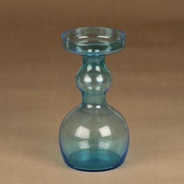 Nuutajärvi 1483 vase, light blue designer Oiva Toikka
