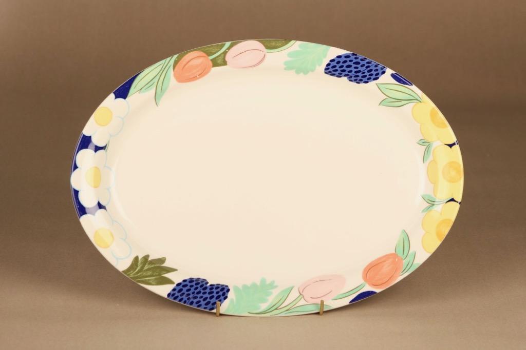 Arabia Poetica serving plate designer Dorrit von Fieandt