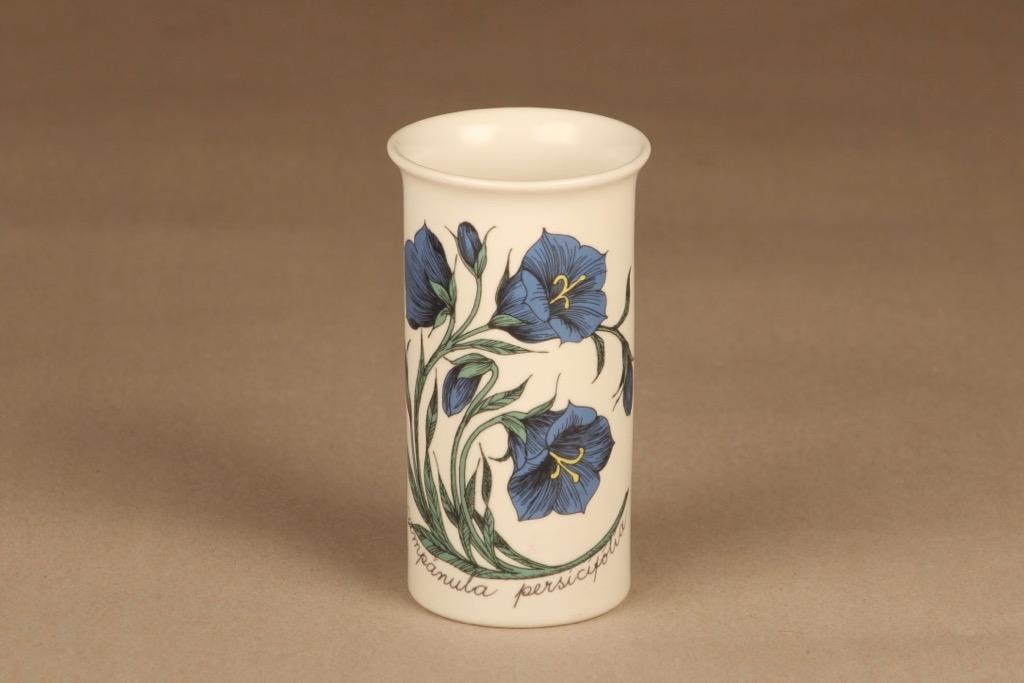Arabia Botanica maljakko, monivärinen, suunnittelija Esteri Tomula, kukka, serikuva