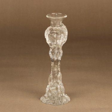 Humppila Kasvimaalla kynttilänjalka, kirkas, suunnittelija Pertti Santalahti,