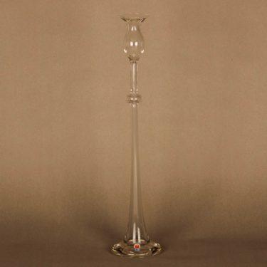 Kumela 351 kynttilänjalka, kirkas, suunnittelija Sirkku Kumela-Lehtonen,