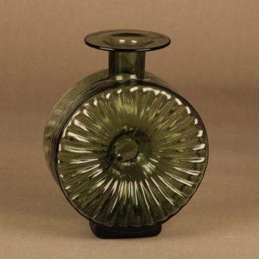 Riihimäen lasi Aurinkopullo decorative bottle size ¾ designer Helena Tynell