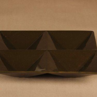 Arabia Lokerikko serving plate, signed designer Kaj Franck