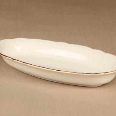 Arabia Siro sillivati, valkoinen, kulta, suunnittelija ,