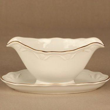 Arabia Siro kastikekaadin, valkoinen, kulta, suunnittelija ,