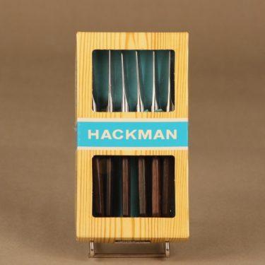 Hackman Lion de Luxe voiveitsi, 6 kpl, suunnittelija Bertel Gadberg,