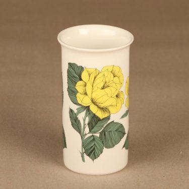 Arabia Botanica maljakko, Rosa Ever Gold, suunnittelija Esteri Tomula, Rosa Ever Gold, ruusu