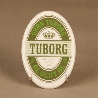 Arabia mainoskyltti, Tuborg, suunnittelija , Tuborg