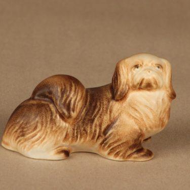 Arabia figuuri, Tiibetin spanieli, suunnittelija Lea von Mickwitz, Tiibetin spanieli, koira