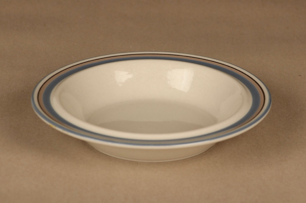 Arabia Uhtua soup plate 6 kpl designer Inkeri Leivo