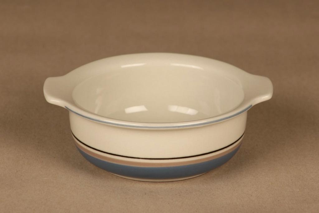 Arabia Uhtua bowl with handle designer Inkeri Leivo
