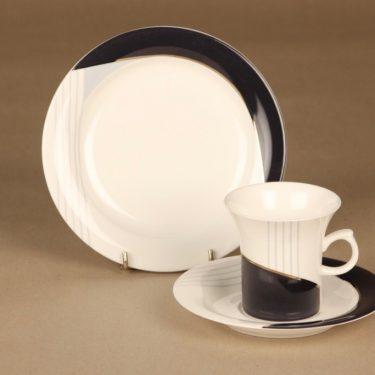 Rörstrand Lyyra kahvikuppi ja lautaset (2), suunnittelija ,