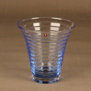 Iittala vase, light blue designer Aino Aalto